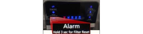 reset samsung light how to reset the water filter light on a side by side
