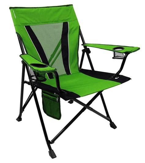 Green Folding Chairs by Dual Lock Chair Lime Green Kijaro 80117 Folding