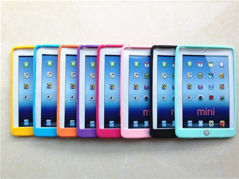 2 3 4 Soft Jelly Silicone Sarung Casing Cover soft jelly silicone rubber ღ ღ tpu tpu for ヾ ノ mini4 gel skin
