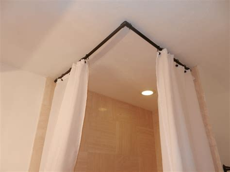 curtain rod ceiling mount curtain astonishing ceiling mount curtain rods corner