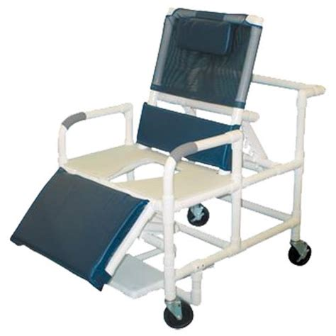 reclining commode chair bariatric reclining shower and commode chair shower