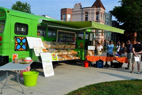 one market mobile kale on wheels mobile market serves food desert