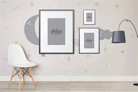 mockup room free artist room frame mockup to showcase your artworks