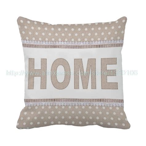 throw pillows for brown sofa home cushion decorative pillows costomized white dot brown