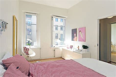 apartment cozy small studio apartment interior with pink