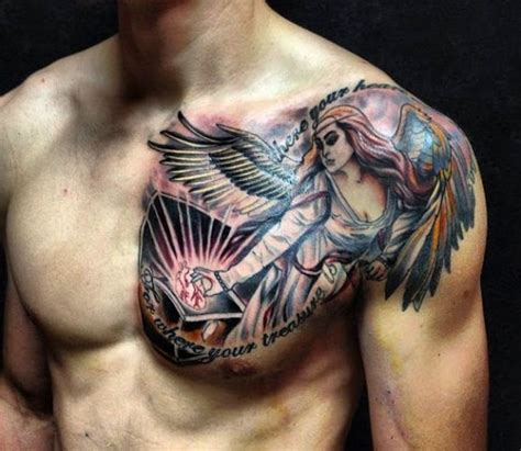 amazing chest tattoos on chest for concept 187 a to z