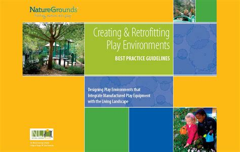 design standards for children s environments pdf nature grounds creating and retrofittng play environments