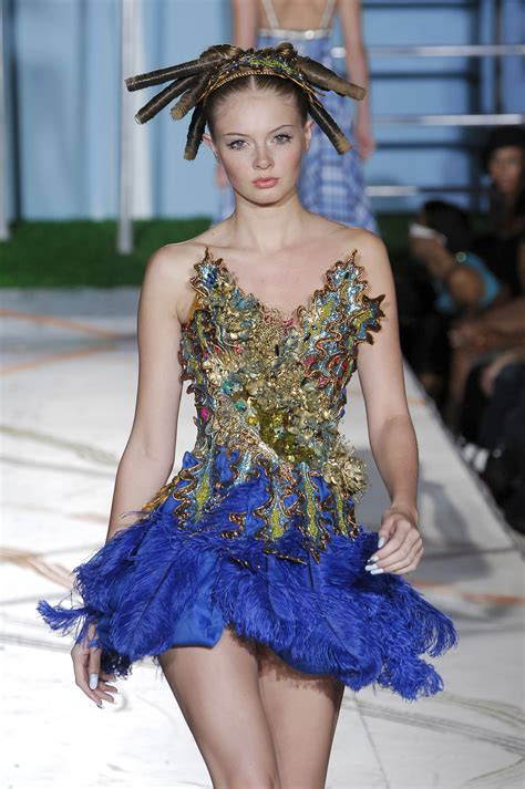 Heatherette Rocks New York Fashion Week by Heatherette 2008 Runway Pictures Livingly