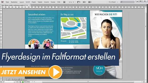 Flyer Design Vorlagen Indesign Indesign Tutorial Flyerdesign Im Faltformat Erstellen Teil 01 Indesign Tutorial