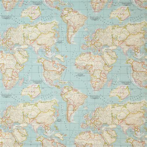 world map upholstery fabric world map 2 designer curtain upholstery cotton fabric