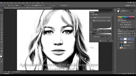 how to make doodle in photoshop adobe photoshop cc drawing effect tutorial