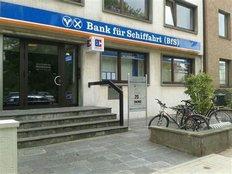 bank hannover bank f 252 r schiffahrt bfs niederlassung hannover
