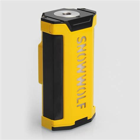Tesla T2 Yellow Mod Vape Vapor Authentic authentic sigelei snowwolf vfeng 230w yellow vw variable wattage mod