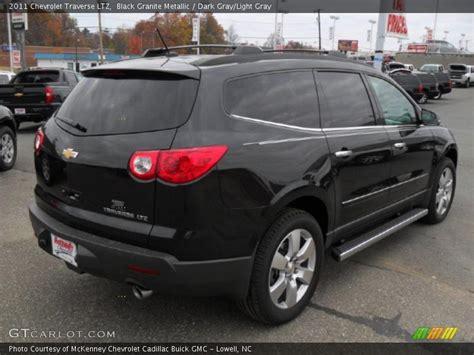 2011 chevrolet traverse ltz 2011 chevrolet traverse ltz in black granite metallic
