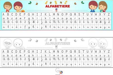lettere e caratteri alfabetiere con i 4 caratteri gabryportal