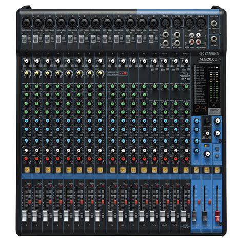 1 Unit Mixer Yamaha yamaha mg 20xu 171 mixer