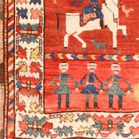 Folk Rugs by Folk Antique Caucasian Karabagh Runner Rug At 1stdibs
