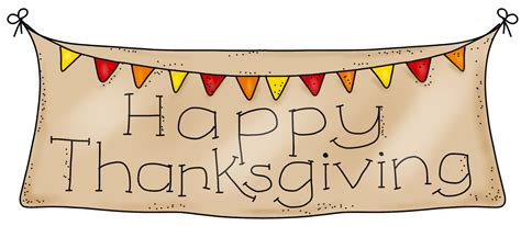 thanksgiving clipart happy thanksgiving banner clipart clipartsgram