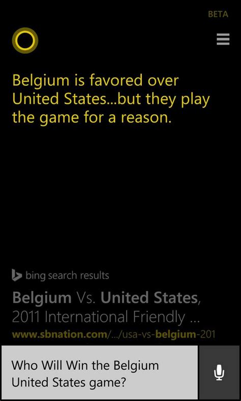 Pdf Cortana What Are The Soccer Scores by Cortana S Update Brings Football Prediction To