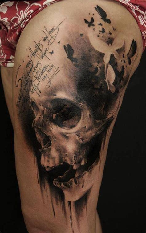 black and grey skull tattoo designs 30 amazing skull tattoo designs for boys and girls
