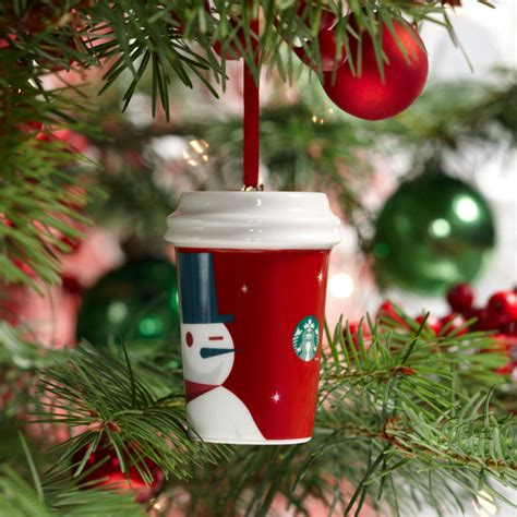 starbucks 2012 holiday ornament red cup eclectic