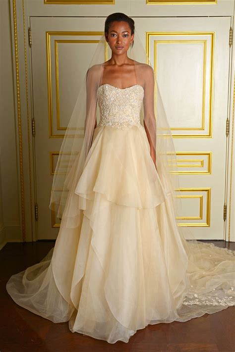 fall 2015 wedding dresses best fall wedding gowns at bridal fashion week