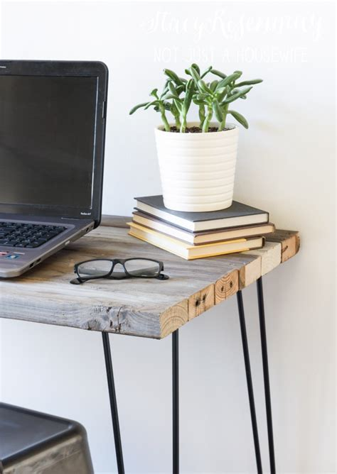 reclaimed wood desk diy reclaimed wood desk not just a