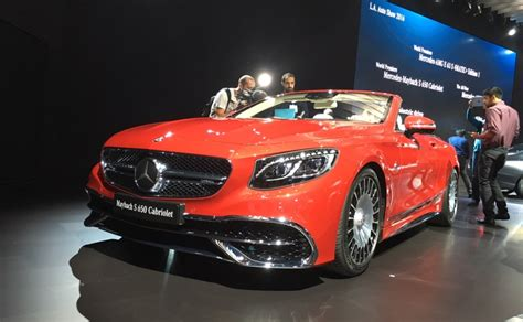who makes mercedes mercedes maybach s 650 cabriolet makes its global debut at