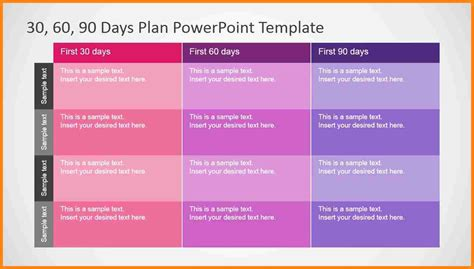 30 60 90 day plan powerpoint template 8 30 60 90 day plan template powerpoint driver resume