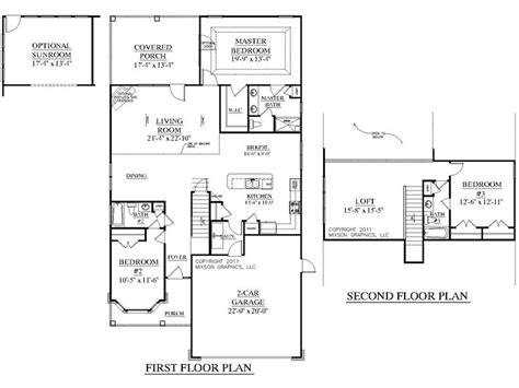 House Plan 2219 Dawson Floor Plan Traditional 1 1 2 | house plan 2219 dawson floor plan traditional 1 1 2