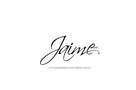 tattoo design name style jaime name tattoo designs