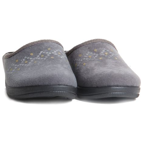 warm house slippers womens slip on low wedge slippers sparkling