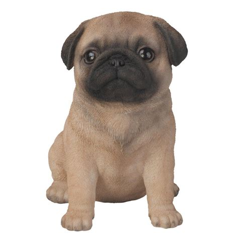new pug brand new pug puppy garden ornament ebay