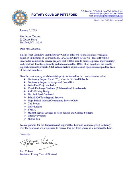 Donation Letter In Memory Of Someone In Memory Donation Letter Sles Pictures To Pin On Pinsdaddy