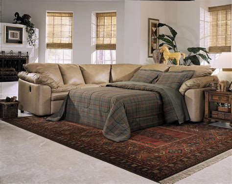 sectional sofa with pull out bed and recliner