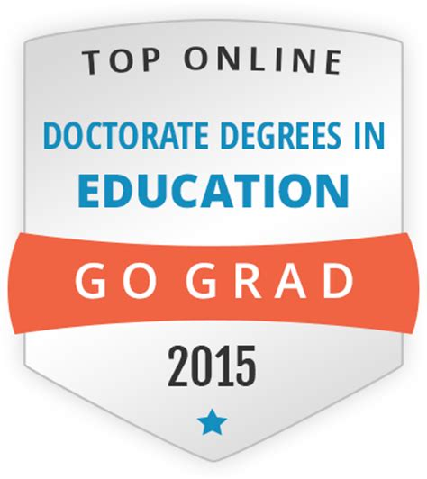 Best Doctoral Programs In Education 5 by Gograd Ranking College News College Of Education