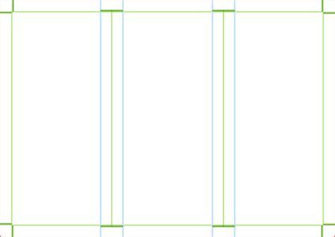 Brochure Template Blank by Blank Tri Fold Brochure Template Helloalive