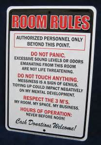 Bedroom Rules Bedroom Rules Folat