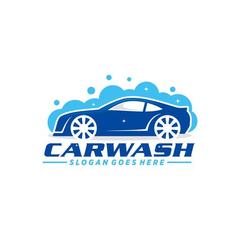 Car Wash Logo Template Vector Premium Download Car Wash Logo Template Free
