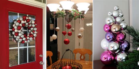 how to decorate christmas baubles 12 creative ways to decorate your home with baubles