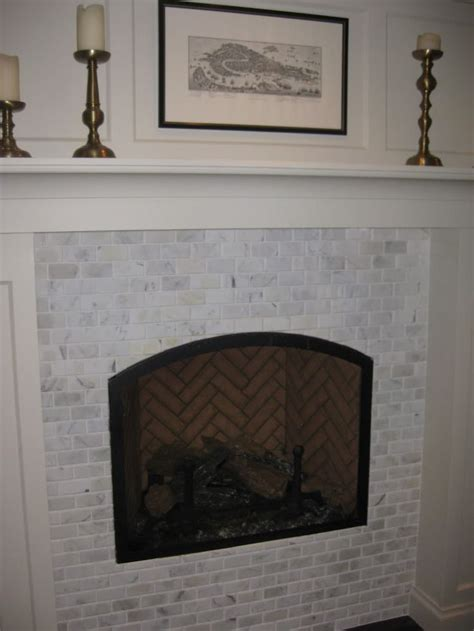 Fireplace Without Surround by Marble Fireplace Surround But Without Raised Hearth