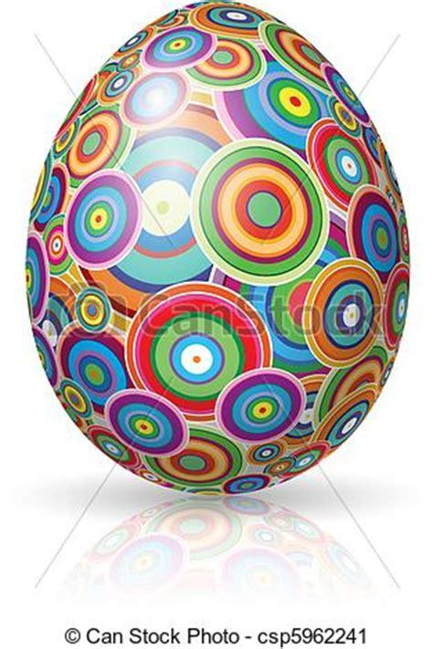 easter egg vector illustration  white background