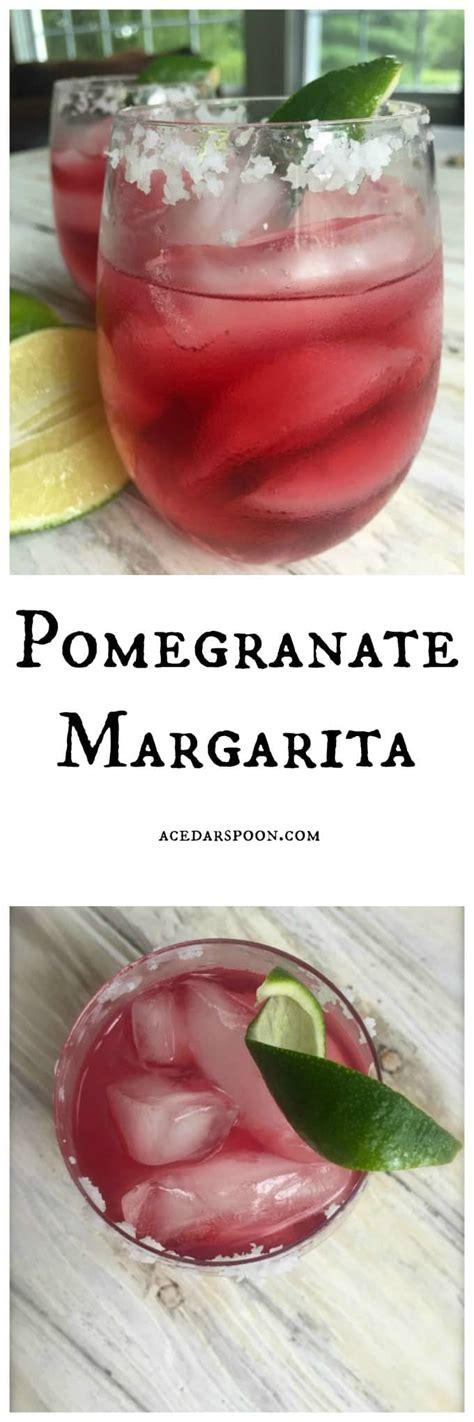 pomegranate margarita pomegranate margarita a cedar spoon