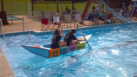 kingsport cardboard boat race boatrace04 armstrong construction kingsport tennessee