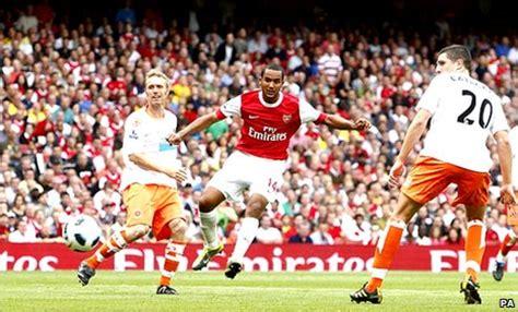 Arsenal Olahraga indonesia olahraga arsenal lumat blackpool