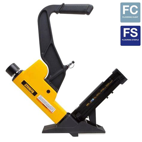 DEWALT 2 in 1 Pneumatic 15.5 Gauge and 16 Gauge Flooring