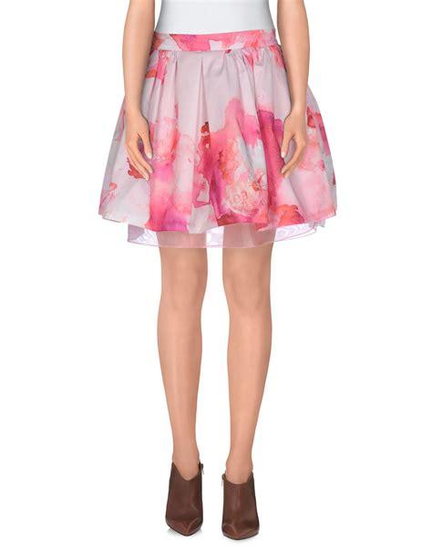 light pink mini skirt trend mini skirt in pink light pink lyst