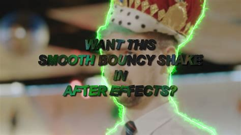 shake after effects after effects tutorial bouncy shake