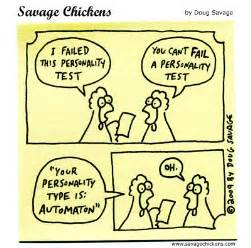 personality test savage chickens on
