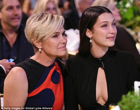 how does yolanda foster style her hair bella and anwar hadid also battling lyme disease mom